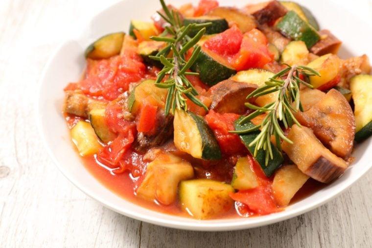 ratatouille,healthy vegetarian meal