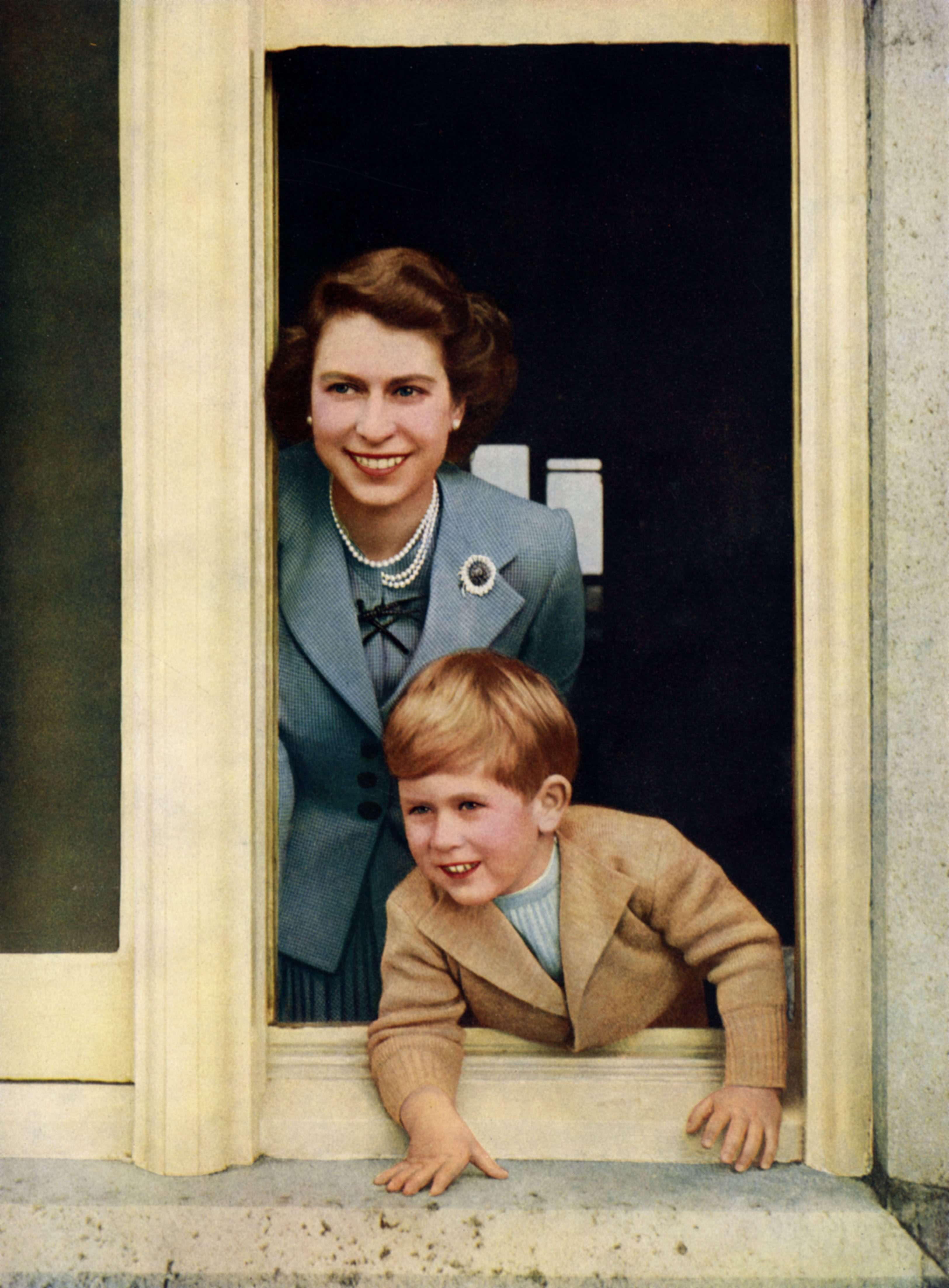 Queen Elizabeth Ii and Prince Charles Prince of Wales