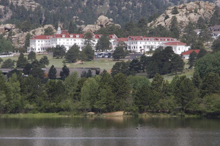 Stanley Hotel in Estes Park Colorado Rocky Mountain National Park