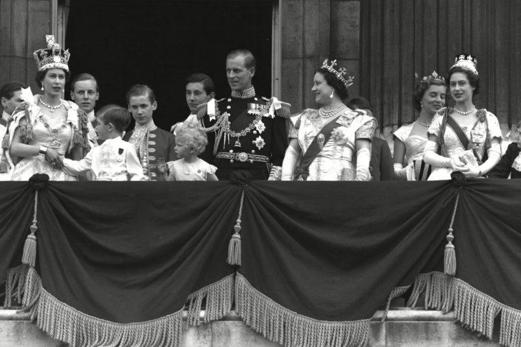 balcony coronation