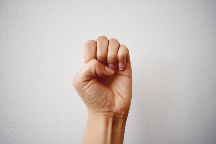 Sign Language - E