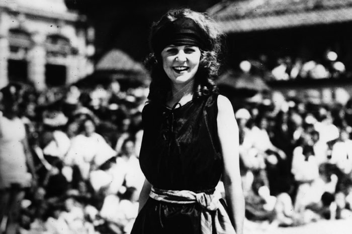 Margaret GORMAN 1905-1995, winner of the first Miss America pageant in 1921 at Atlantic City, New Jersey