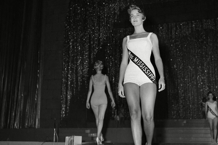 Lynda Lee Mead Lynda Lee Mead of Natchez, Miss., is shown during the swimsuit competition during the Miss America pageant in Atlantic City, N.J
