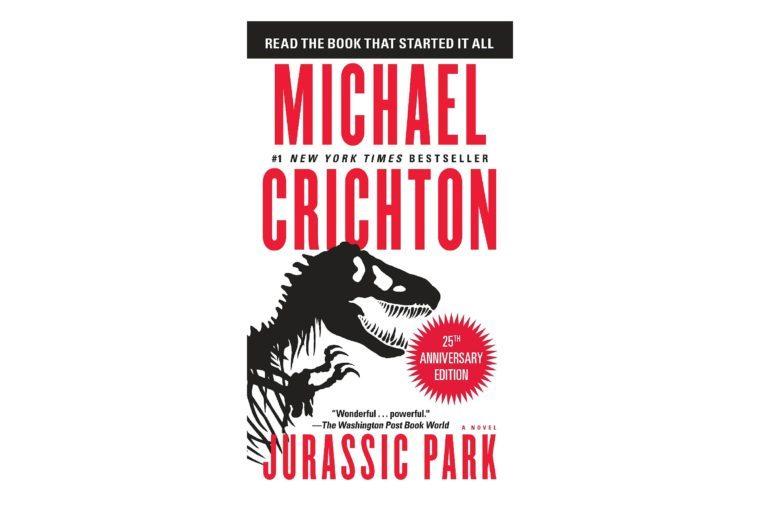 Jurassic Park, by Michael Chrichton