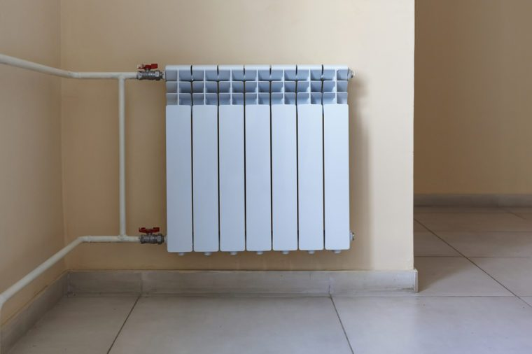 Radiator, heating apartment