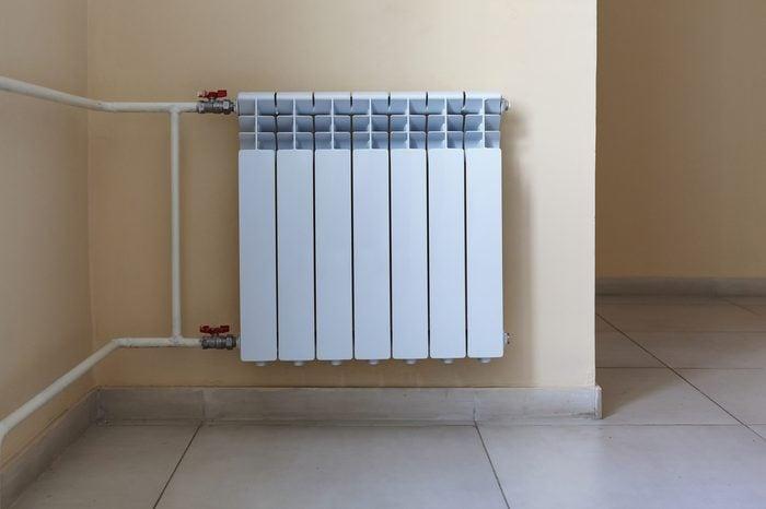 Radiator, heating apartment