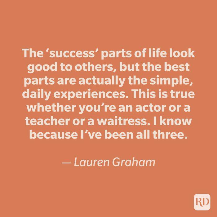 Lauren Graham quote
