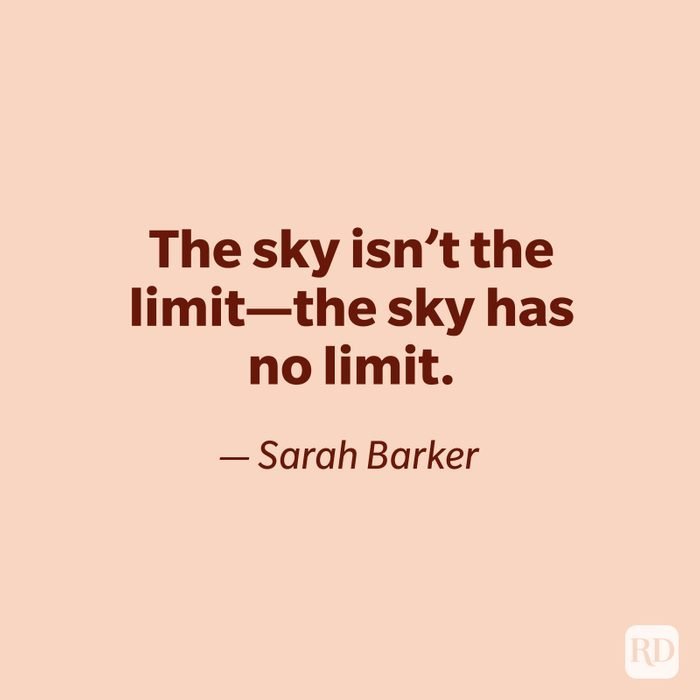 Sarah Barker quote