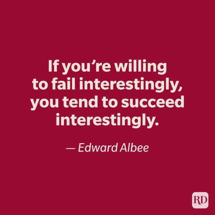 Edward Albee quote