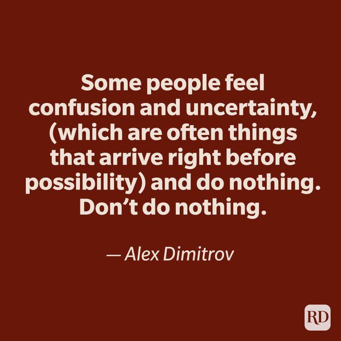 Alex Dmitrov quote