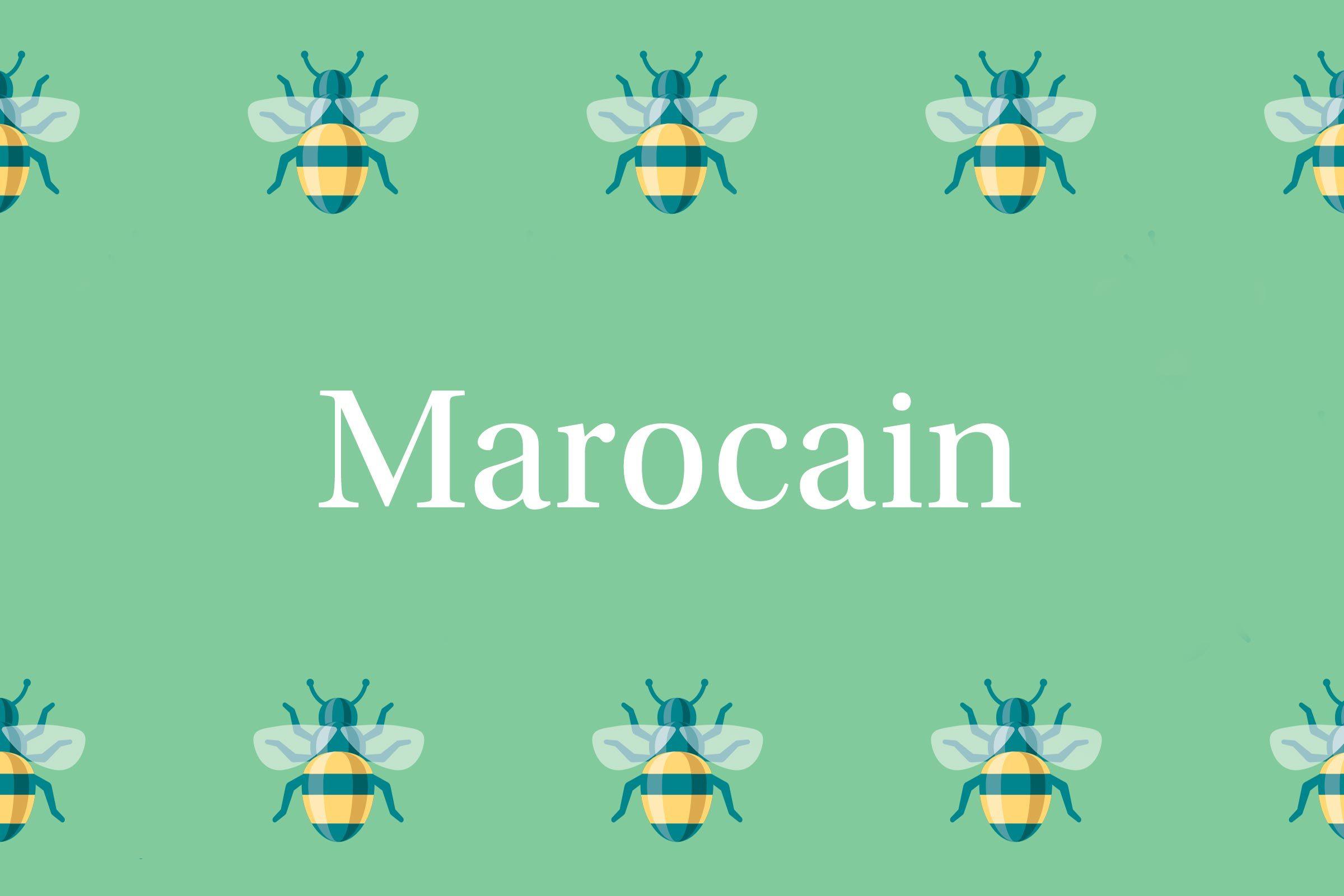 Marocain