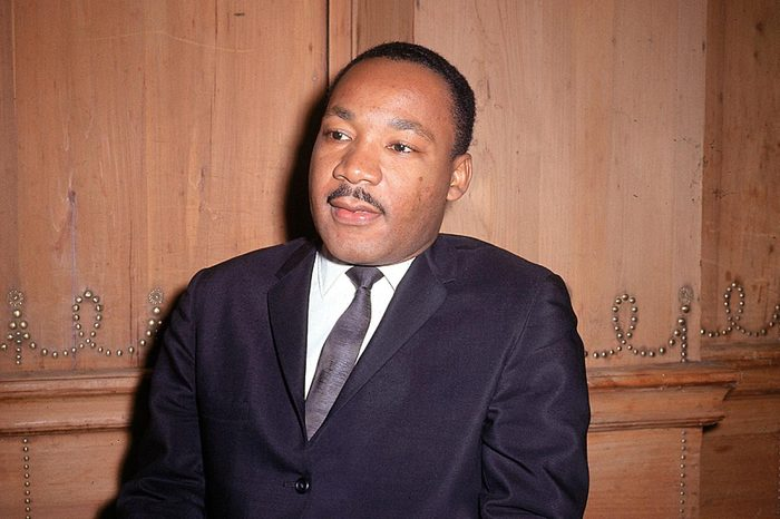 KING Dr. Martin Luther King Jr. is seen at a press conference in 1966