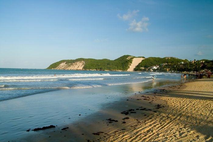 Ponta Negra beach Natal Rio Grande do Norte state Brazil South America
