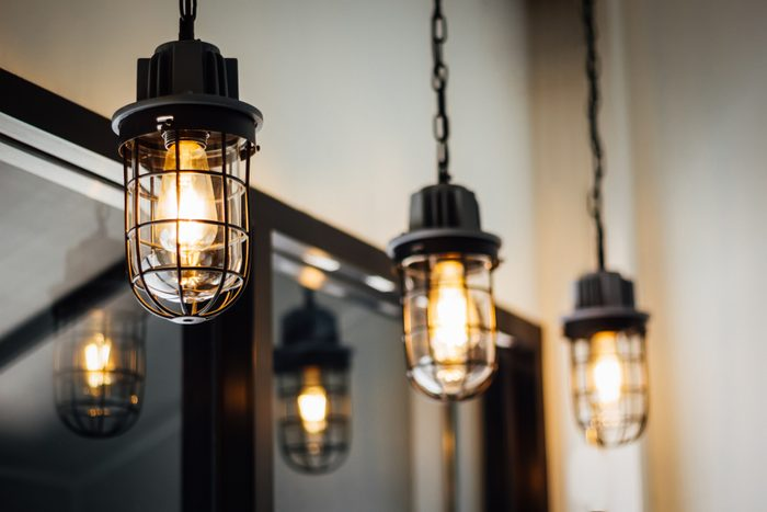 Warm and Vintage Interior light