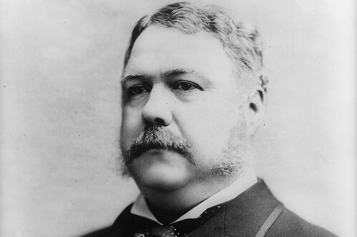 Chester Alan Arthur (1829-1886) 21st President of the United States of America 1881-1885. Vice-President under President Garfield on whose assassination he succeeded to office. Arthur in 1882.