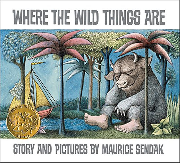 100- Where the Wild Things Are by Maurice Sendak