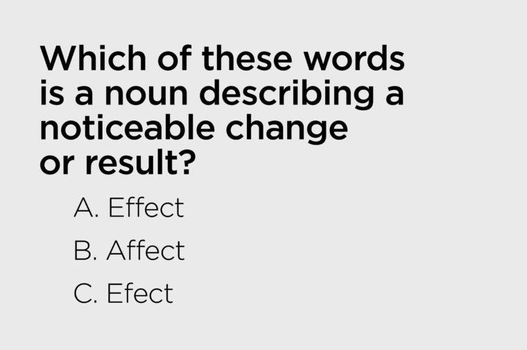 describing noticeable change or result