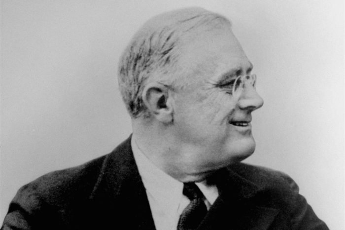 A 1934 profile portrait of President Franklin Delano Roosevelt, 32nd president of the United States