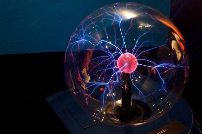 Image of Electric plasma sphere, Lampang, Thailand.
