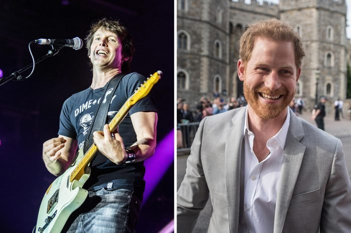 James Blunt and Prince Harry