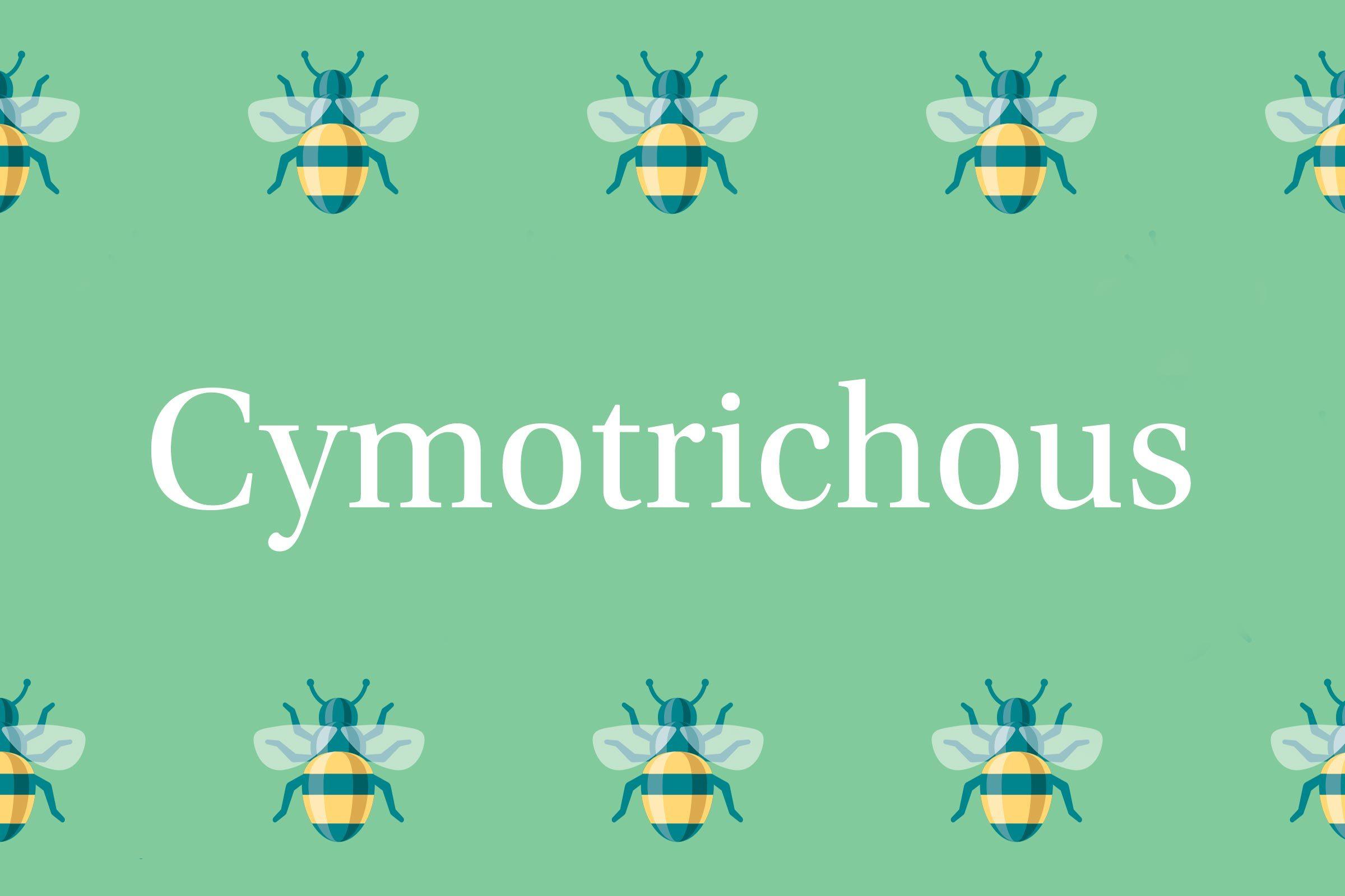 Cymotrichous