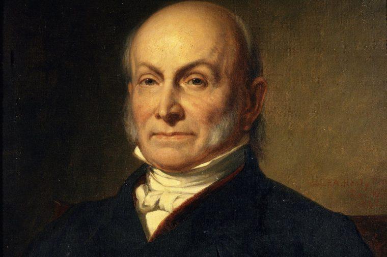 John Quincy ADAMS, 1767-1848 6th American President (1825-29) (George Healy)