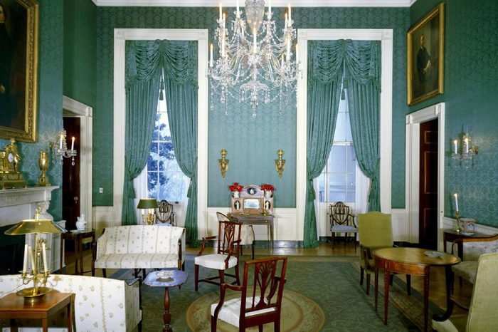 Green Room of the White House