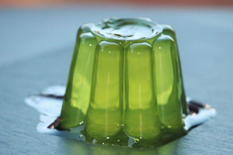 Lime gelatine