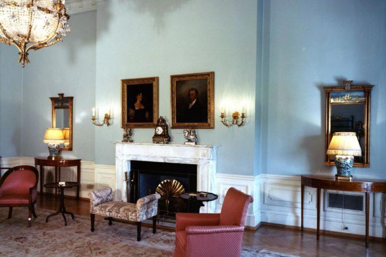 Monroe Room, White House