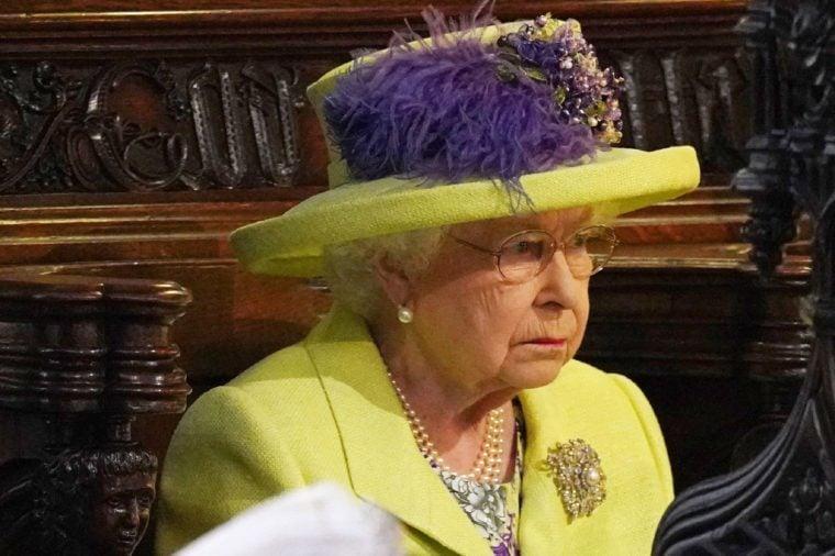 Queen Elizabeth II and Meghan Markle