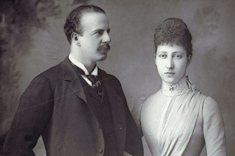 The Duke and Duchess of FIFE; Louise, Princess Royal, 1867-1931, daughter of King Edward VII and grandaughter of Queen Victoria married Alexander Duff, 6th Earl of Fife in 1899; photograph by W & D Downey, London