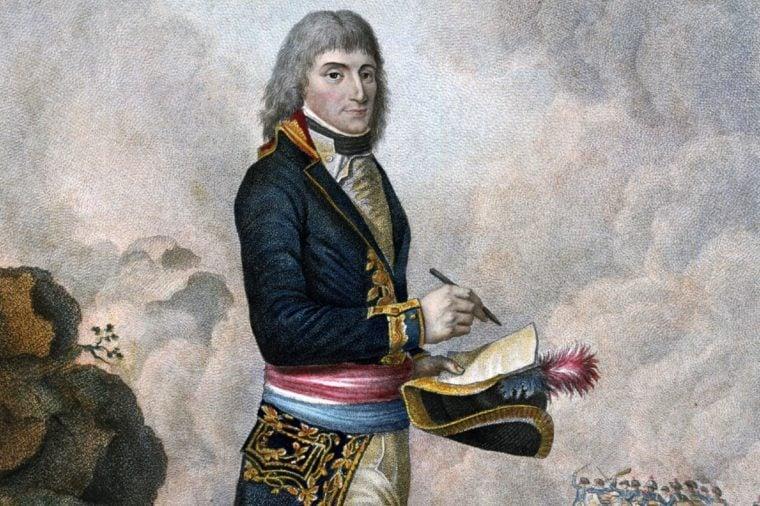 Napoleon Bonaparte (1769-1821). Engraving