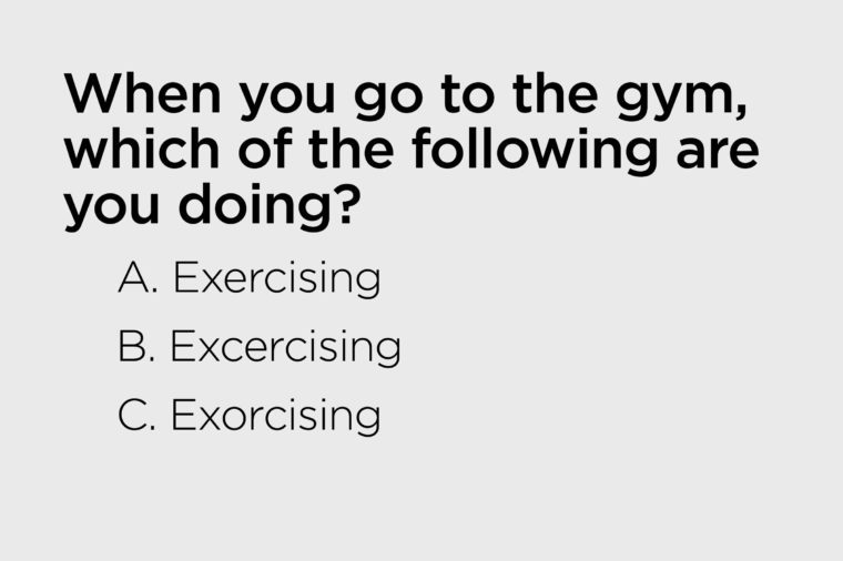when you go to the gym