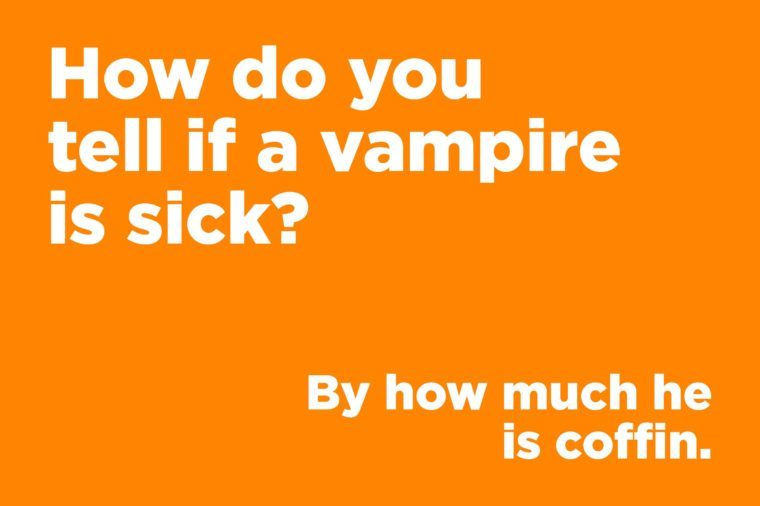vampire sick