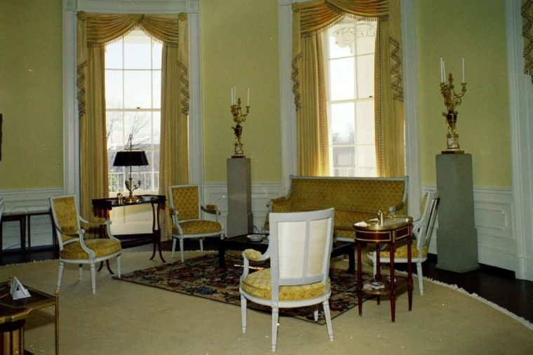 Yellow Oval Room, White House
