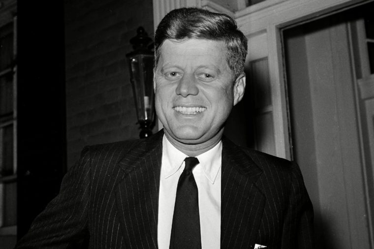 John F. Kennedy, John Kennedy, John Fitzgerald Kennedy, JFK President-elect John F. Kennedy is shown at his residence in the Georgetown section of Washington, D.C