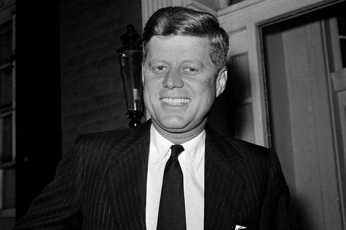 John F. Kennedy, John Kennedy, John Fitzgerald Kennedy, JFK President-elect John F. Kennedy is shown at his residence in the Georgetown section of Washington, D.C