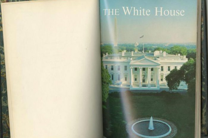 First Edition White House guide book