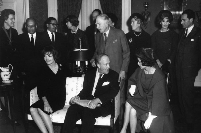 First Lady Jacqueline Kennedy's Tea for the Special Committee for White House Paintings