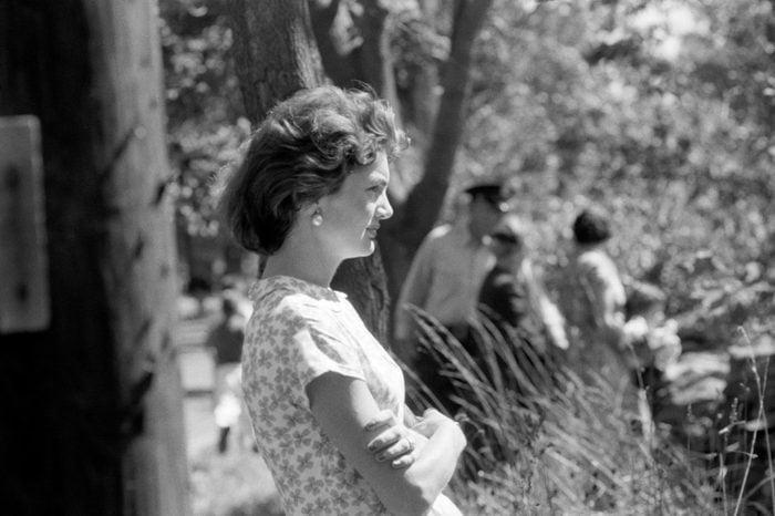 Jacqueline Kennedy. 1957