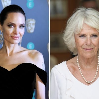 Angelina Jolie and Duchess Camilla