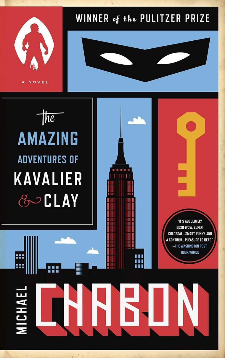 55- The Amazing Adventures of Kavalier & Clay by Michael Chabon