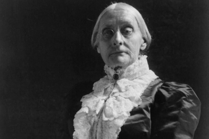 Suffragist Susan B. Anthony