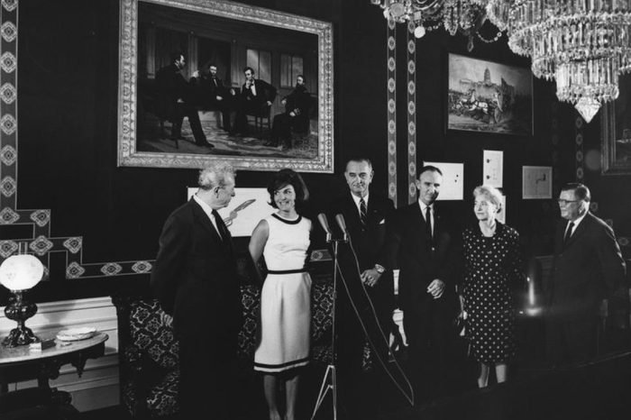 Opening of the Refurbished Treaty Room, White House