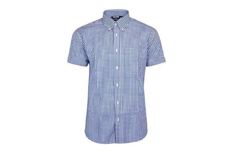 mens short sleeved shirt