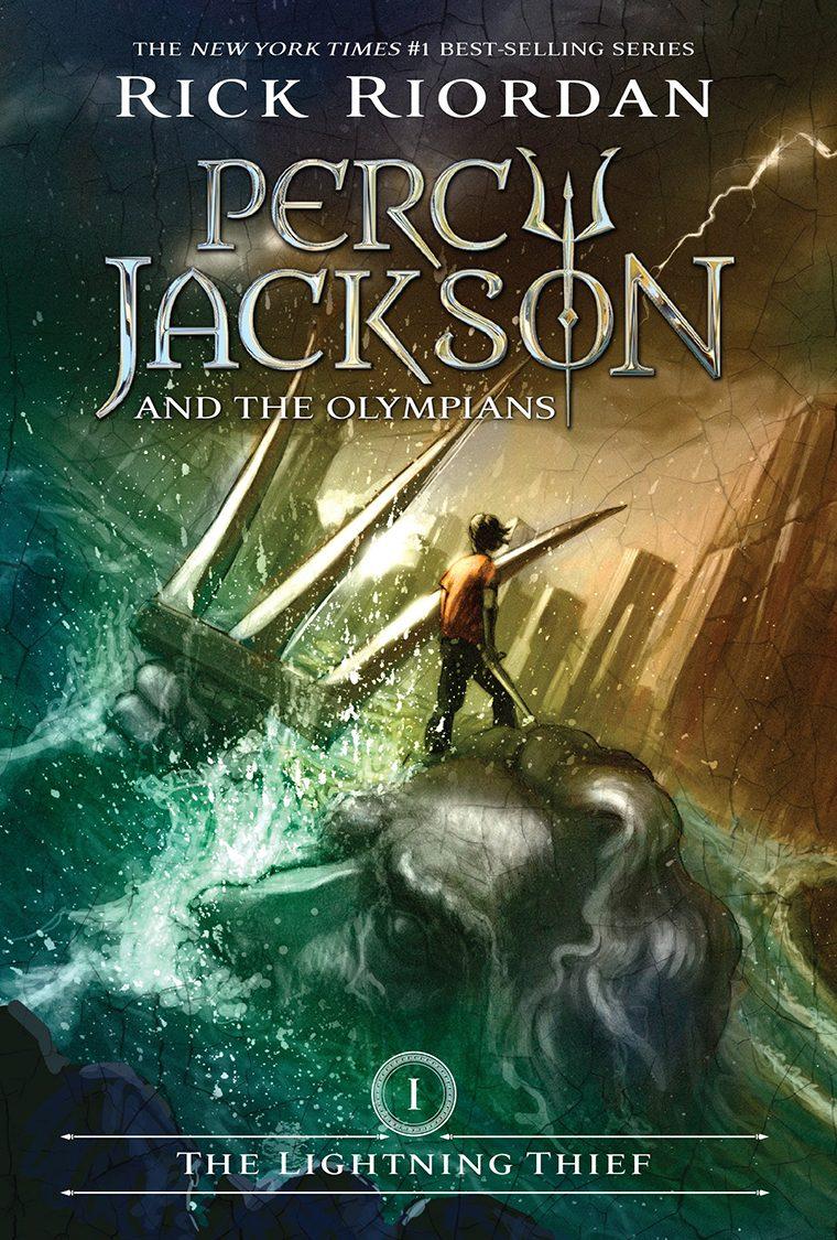 73- The Lightning Thief by Rick Riordan