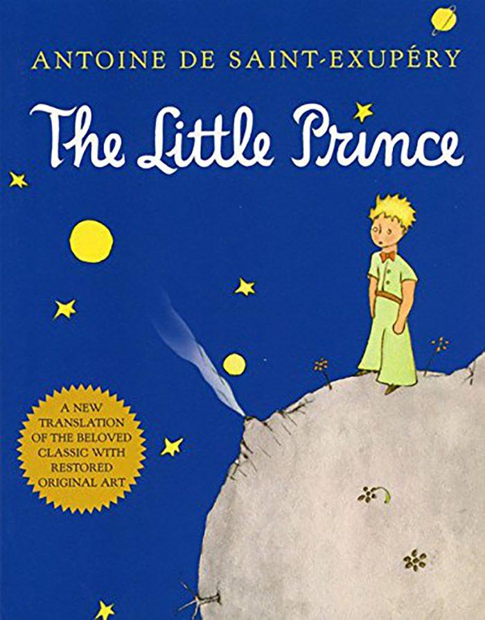 74- The Little Prince by Antoine de Saint-Exupéry