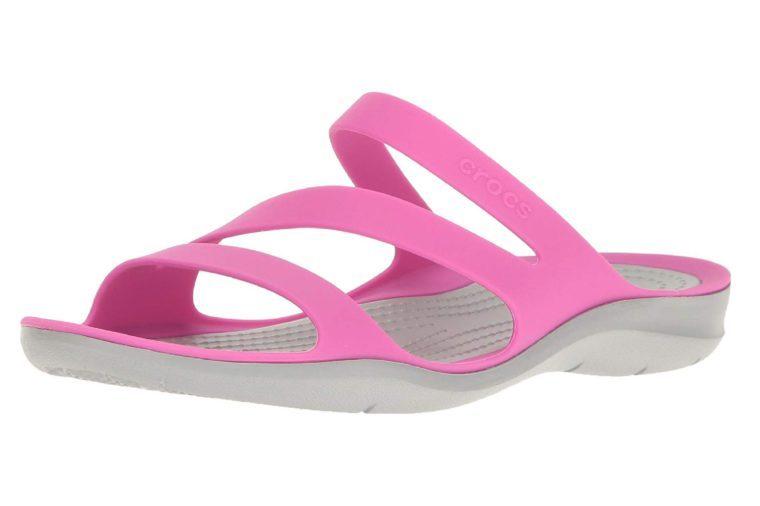 croc sandals