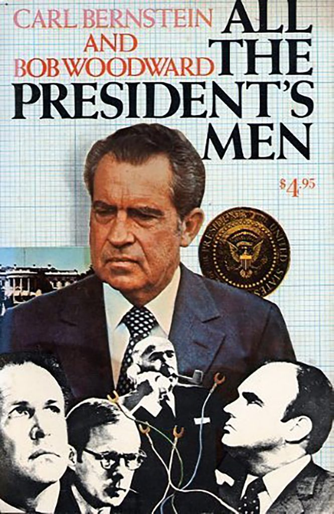 All the President's Men by Bob Woodward and Carl Bernstein