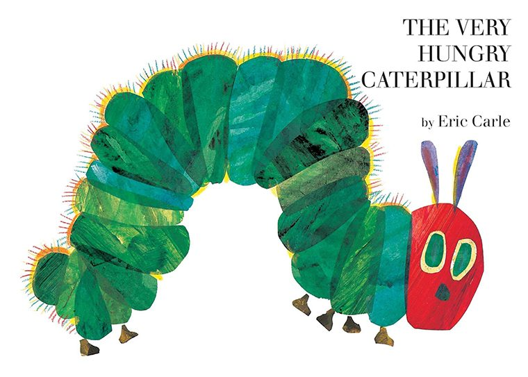 90- The Very Hungry Caterpillar by Eric Carle
